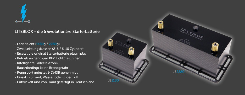 LITEBLOX high performance batteries