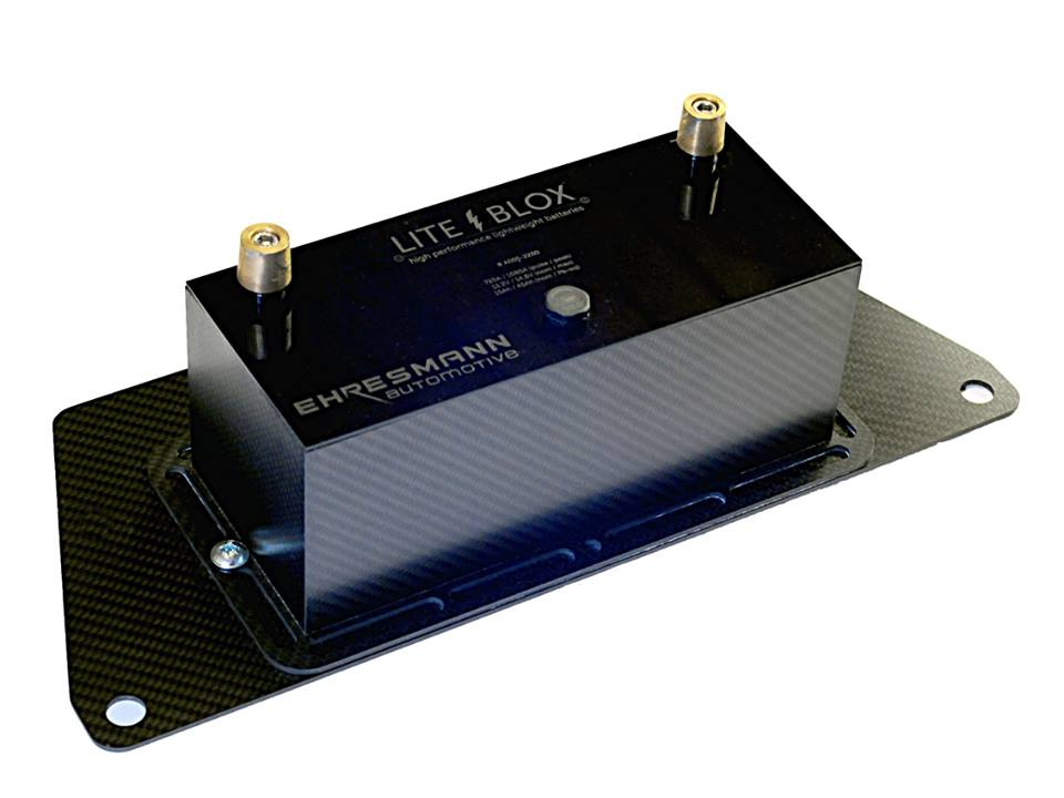 LiFePO4 Batterie Halterung Adapter