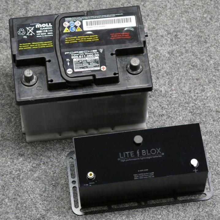 OEM Batterie Originalbatterie Porsche Halter leicht
