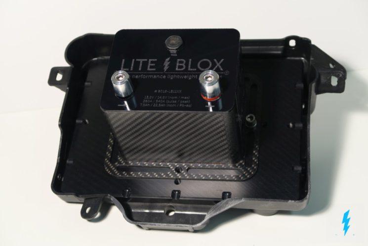 Halter Batterie OEM Batteriewanne