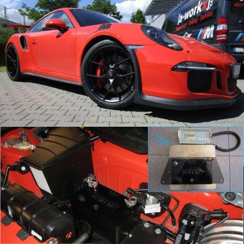 Porsche 991 GT3 RS batterie leicht gewicht