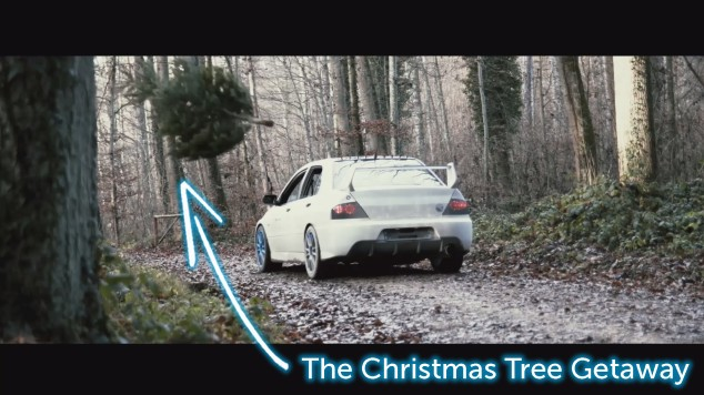 The Christmas Tree Getway