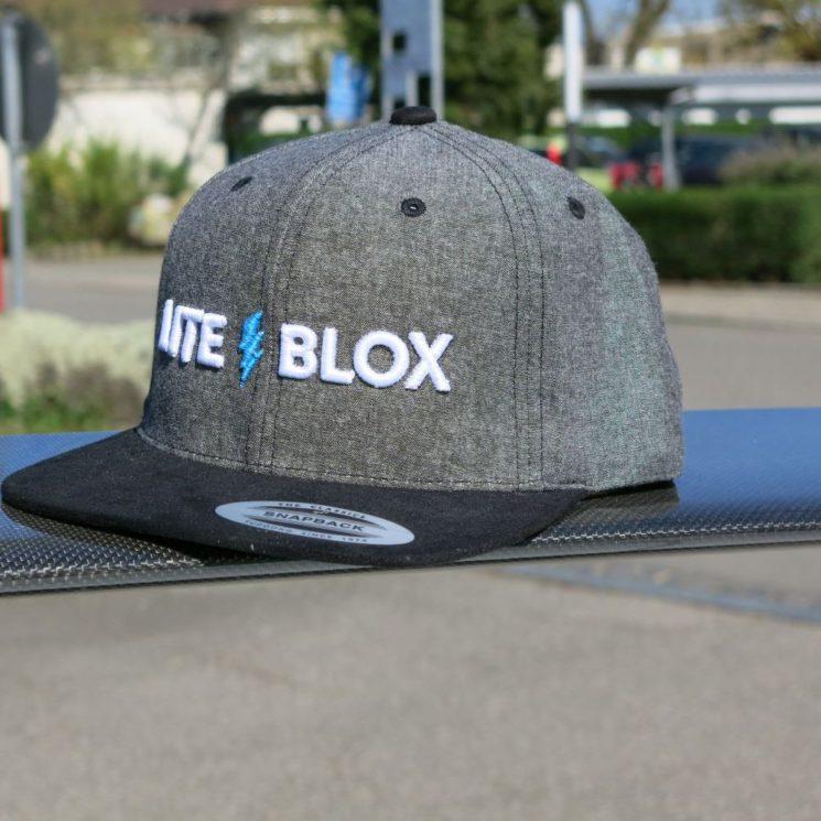 LITEBLOX Snapback CAP front