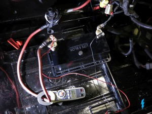 Batterie Messung Startstrom